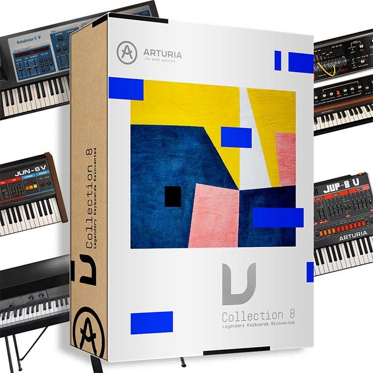 Arturia V Collection Mac v8.12.20 Crack